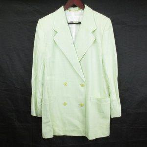 ESCADA Green Pastel Double Breasted Blazer